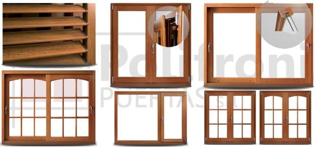 Polifroni puertas s r l for Aberturas pvc simil madera precios