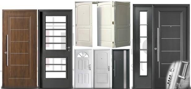 Polifroni puertas s r l for Modelos de puertas de madera para frente
